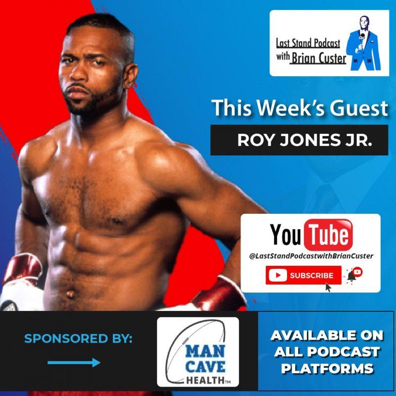 Roy Jones Jr. Man Cave